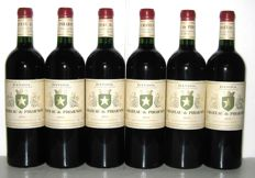 2013 Bandol Château Pibarnon (Rouge) - Lot of 6 bottles