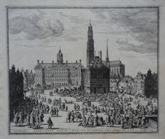 Holland, Amsterdam; Pieter Schut / Nicolaas Visscher - 8 copper engravings - 1655