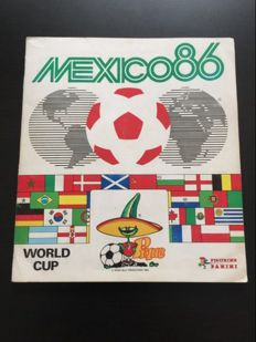 Panini - FIFA Worldcup Mexico 86 - Beautiful complete album.