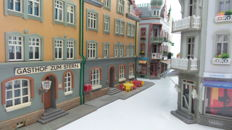 Vollmer/Faller Scenery H0 - Street with 8 mansions for the city