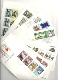 Netherlands 1975/2009 – Collection FDCs in Four Leuchtturm albums