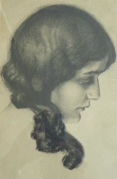 Max Brüning - Portrait of a woman