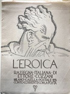 L'Eroica Issue n. 139 year 1930 of the Collection Fondo Ettore Cozzani