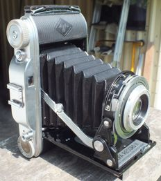 Old camera AGFA RECORD II from 1953