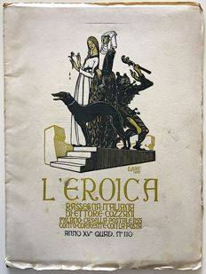 L'Eroica Issue 110 year 1927 of the Collection Fondo Ettore Cozzani