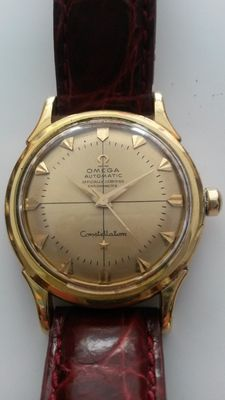 Omega Constellation. Reference 2699 SC – 18 kt gold – From the 1950s.