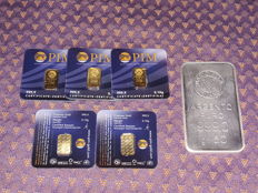 Pim Gold Bullion Lbma certificate and Mario Villa-Milan.