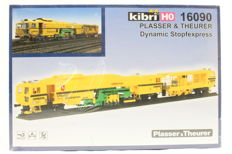 "Kibri H0 - 16090 - Railway construction tamping machine ""Stopfexpress"" 09-3X by PLASSER & THEURER of the DB"