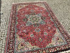 NEVER USED-NEW silk rug: Kashmir - 100% pure silk - 290 x 190 cm