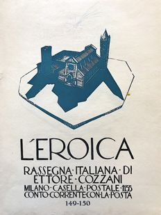 L'Eroica Issues no. 149 and 150 year 1931 of the Collection Fondo Ettore Cozzani