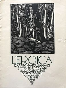 L'Eroica Issues 120 and 121 year 1928 of the collection Fondo Ettore Cozzani