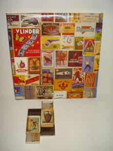 Matches - Wall-plate and match-holder - Various brands