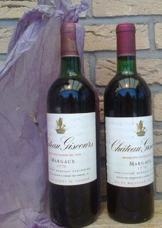 1970 Chateau Giscours, Grand Cru Classe Margaux - 2 Bottles