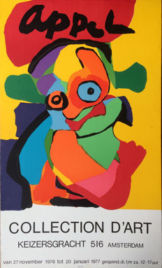 Karel Appel - Collection d'Art - 1976