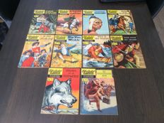 Illustrated Classics - 80-82-83-84-85-87-88-90-91 en 93 - 10x sc - 7x1e druk - 3x herdruk (1959/1963)