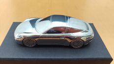 Porsche 911 Targa 4 type 991 2nd generation 2015 - solid aluminium paperweight in luxury gift packaging - scale 1/43