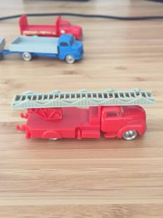 HO 1:87 Vehicles - 7 sets o.a.  1251 + 253 - Esso Bedford Truck + Bedford Flatbed Truck