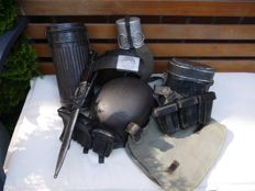 Very fine personal equipment of Wehrmacht soldier WW2.