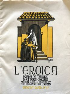 L'Eroica Issue 117 year 1928 of the collection Fondo Ettore Cozzani