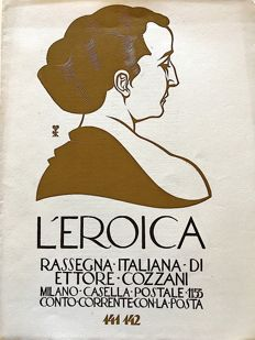L'Eroica Issues no. 141 and 142 year 1930 of the Collection Fondo Ettore Cozzani