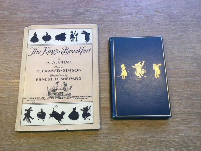 Used, A.A. Milne - When We Were Very Young + The King's Breakfast - 1924/1928 for sale