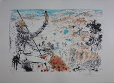 Salvador Dali (d'après) - L'Age d'Or de Don Quichotte
