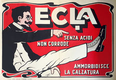 Tancredi Termali - ECLA shoe cream - 1912