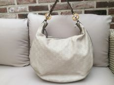 Gucci - Guccissima Leather GG Twins Large Hobo Bag