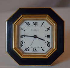 Cartier table alarm clock - 1980s