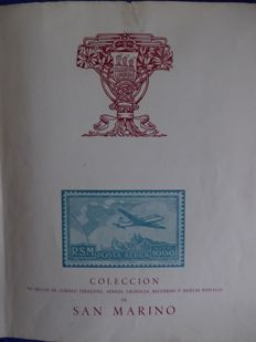 San Marino 1877/1971 – Collection in an attractive album