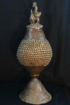 Large ceremonial cup - BAMANA - from Kangaba in the MENDE country in Southern Mali.