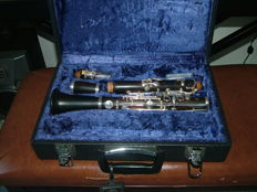 Clarinet with new case