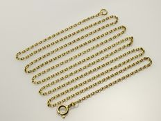 18 kt yellow gold Chain. Length: 70 cm.