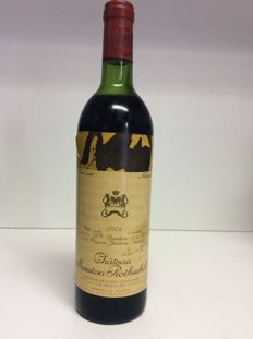 1974 Chateau Mouton Rothschild, 1er Grand Cru Classe, Pauillac, France , 1 bottle 0,73l