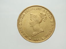Duchy of Parma – 20 Lire – 1815 – Marie Louise – Gold