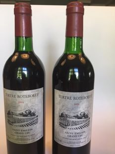 1994 Chateau Le Tertre Roteboeuf, Saint-Emilion Grand Cru - 2 bottles (75cl)