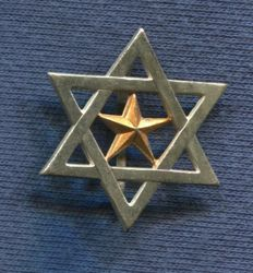 Collar badge. Supervisor of the Mehala Jalifiana . (Colonial Troops). Nationalist  Army.. Spanish Civil War.