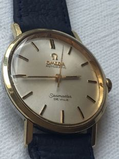Omega- Seamaster-Deville-Men's-1966-Caliber 671-Ultra Rear