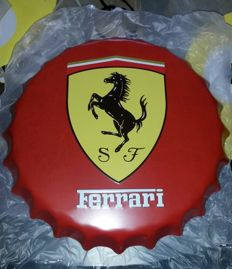 Ferrari bottle caps - 40 cm