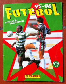 Panini - Portuguese football sticker album from 1995/96 - Full album.