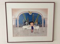 Betty Boop - 'Duet' - Animation Cel - Signed by Shamus Culhane and Steve Martin - With Official Studio Certificate