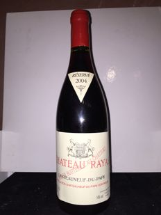 2004 Chateau Rayas Chateauneuf-du-Pape Reserve, Rhone - 1 bottle