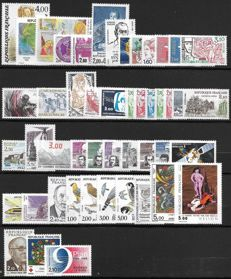 France 1984/1991 – Selection of 8 complete years – Yvert no. 2299/2735