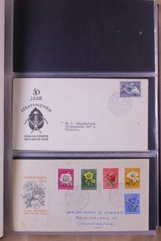 The Netherlands 1952/1985 – Batch FDCs in 2 albums and 2 files