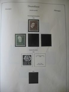 Federal Republic of Germany 1950-1981 - collection in album
