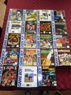 19 games gameboy - boxed