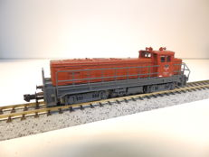 Fleischmann N - From set 931701 - Diesel locomotive Series EM 4/4 of the SBB