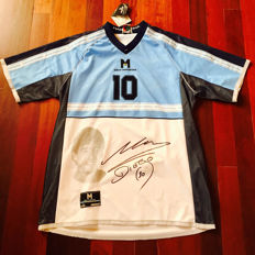 Diego Maradona - Argentina Signed soccer Jersey - Limited Edition 0222 / 3000 - With Notary Public proof