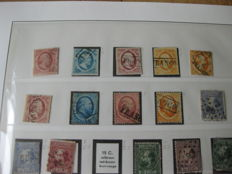 The Netherlands 1852/1966 - Collection in 2 Leuchtturm Falzlos albums