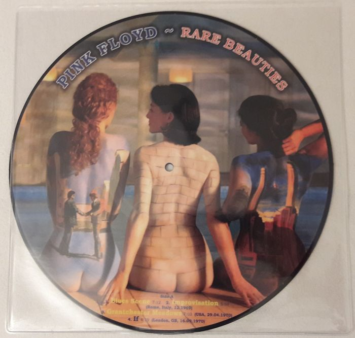 Pink Floyd- Rare Beauties  Limited Edition Picture Disc LP